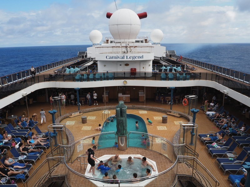 Lido Deck Carnival Legend