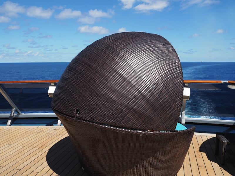 Serenity adults only retreat on Carnival Legend