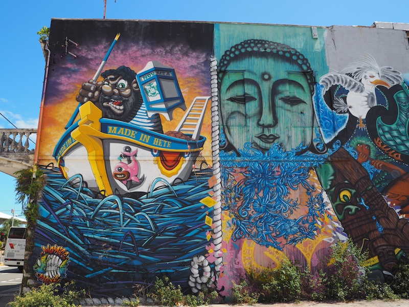 Street art in Noumea - things to do in Noumea