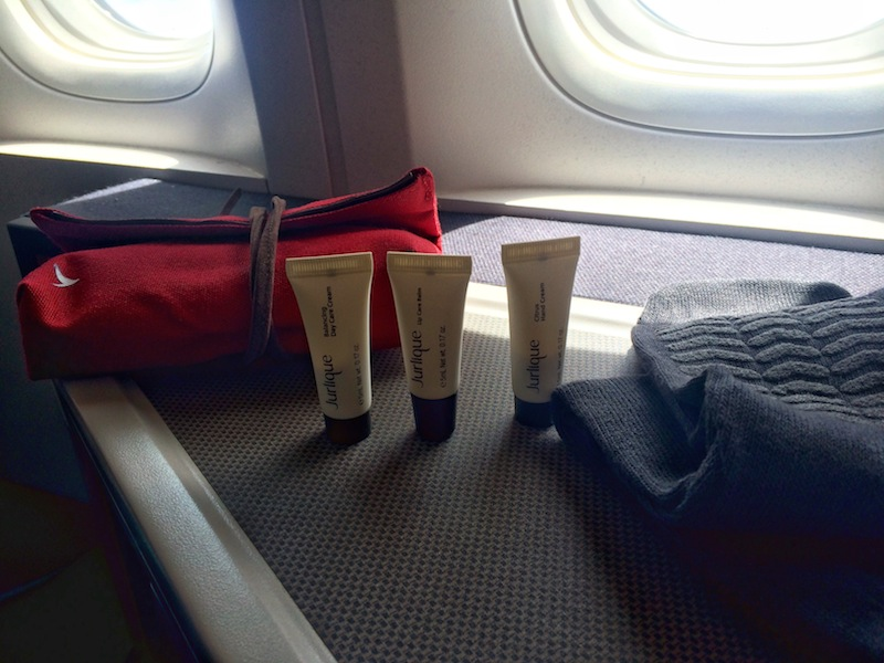 In flight amenity kit