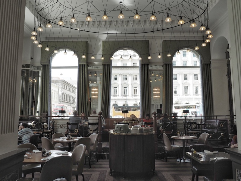 The Balcon is an incredibly grand setting for breakfast