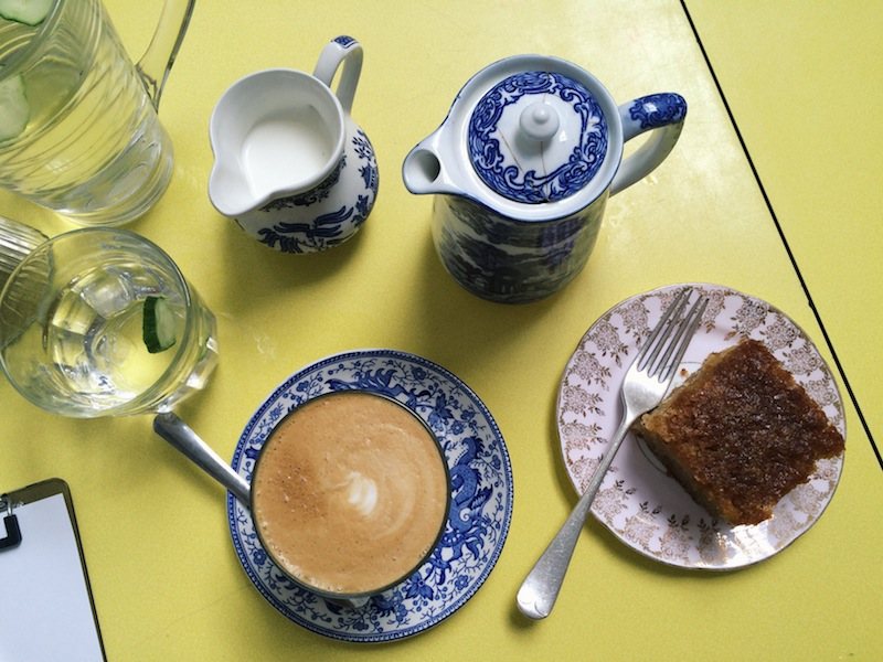 Tea and cake at Drink, Shop, Do near Kings Cross