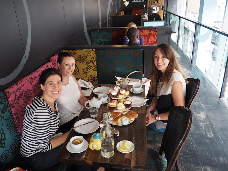 Afternoon tea with the girls at Bea's Of Bloomsbury