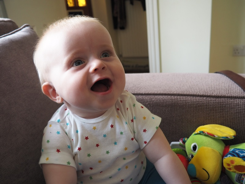 I know as his Aunty I am biased, but seriously, how cute is this kid!