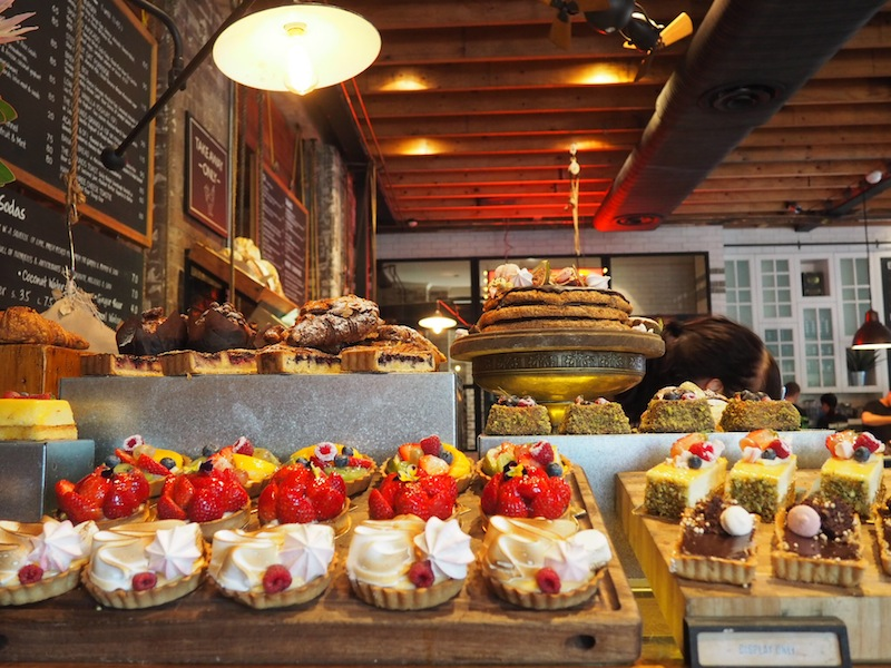 Some of the delectable cakes on offer at Grounds Of Alexandria