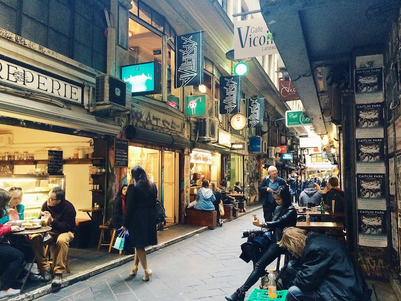 Guide To Melbourne's Laneways