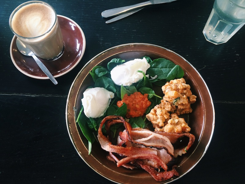 Paleo Breakfast Superhash at Aboutlife Cafe