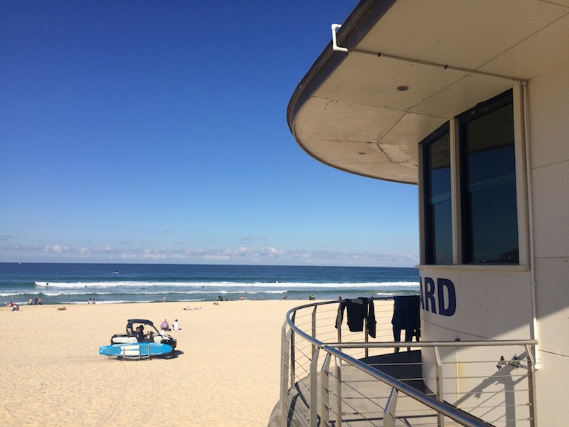 Looking out for the boys from Bondi Rescue