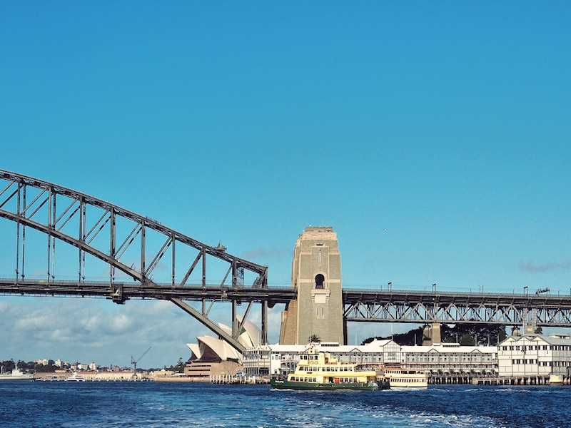 The best way to get around Sydney - hopping on the harbour ferry