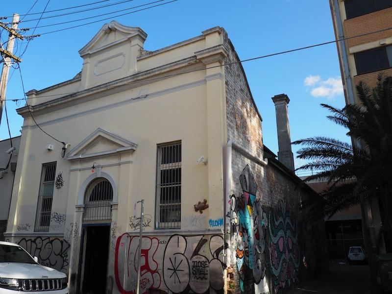 Mary's Newtown is hidden in this derelict looking building!