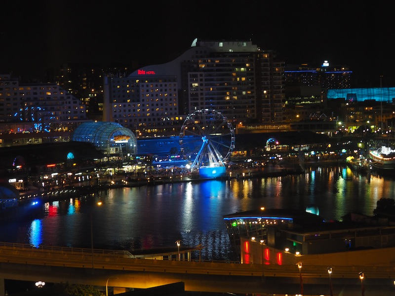View from Club Room at PARKROYAL Darling Harbour