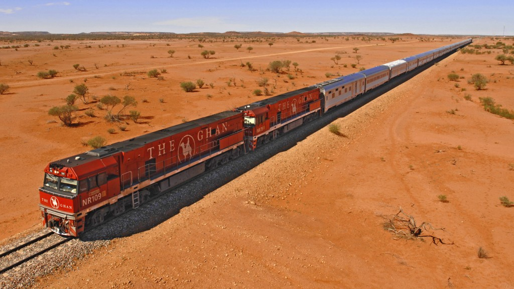 Australia bucket list - The Ghan
