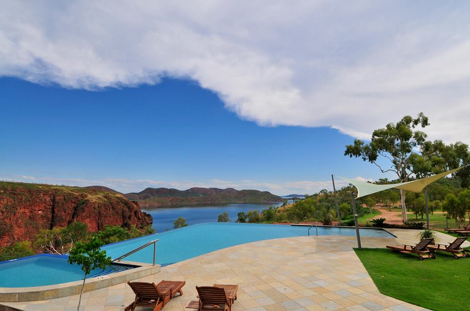 Infinity Pool at Lake Argyle Caravan Park Kimberley Australia