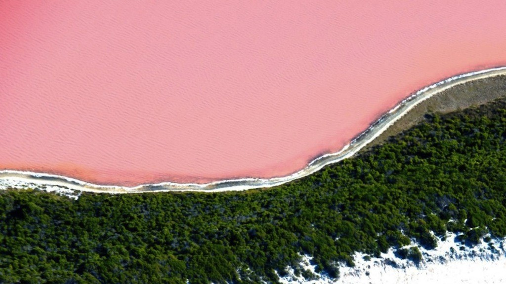 Australia bucket list - Lake Hillier, Middle Island, Esperance