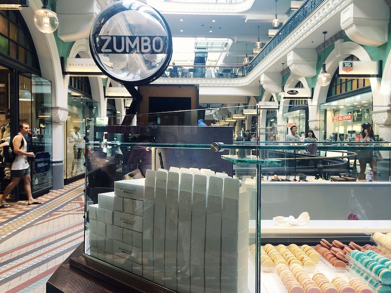 The Zumbo store in the Queen Victoria Building Sydney