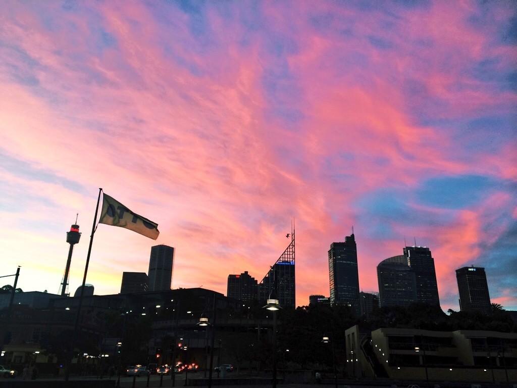 Another ugly Sydney sunset - I joke!