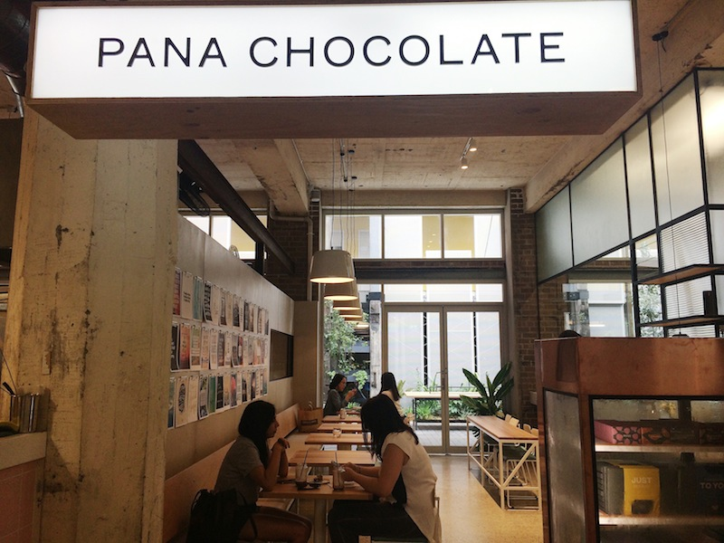 Sample raw, organic, handmade desserts at Pana Chocolate Sydney