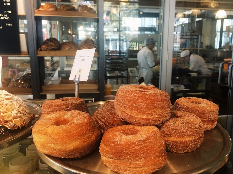 Simply perfect cinammon cronuts at Rosetta Stone Bakery Alexandria