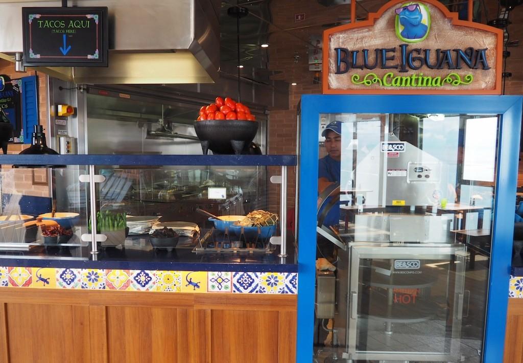 Fresh tacos and burritos cooked up at BlueIguana Cantina