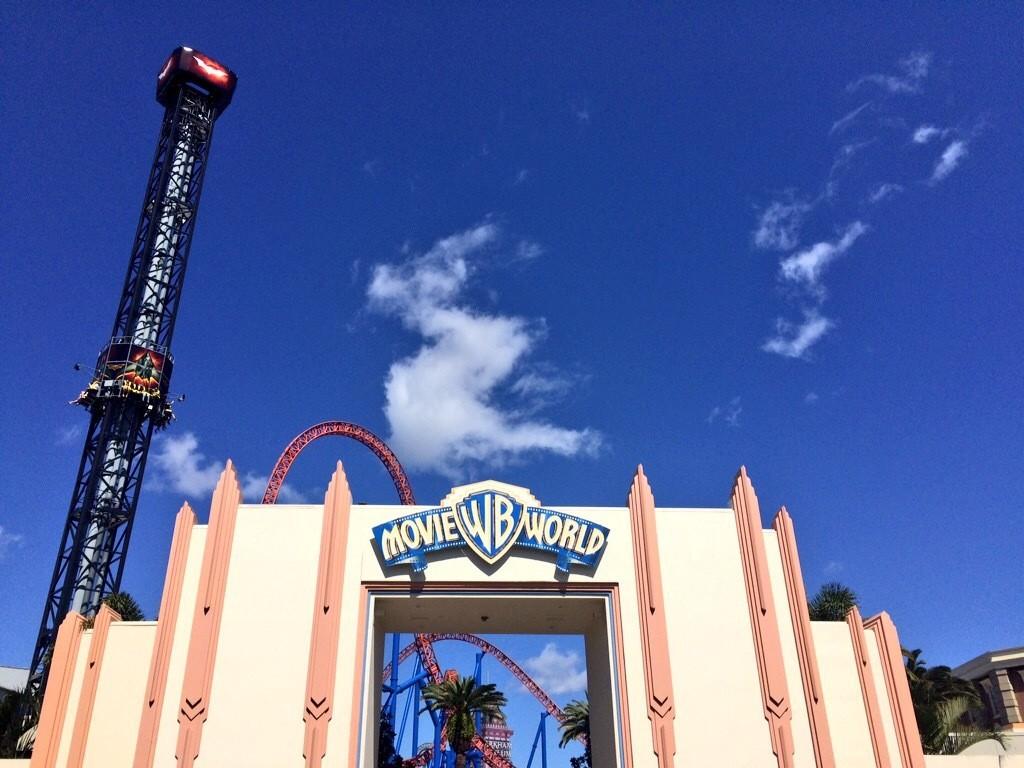 Big kids playground - Movie World Gold Coast