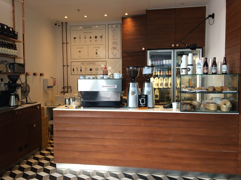 Great spot to grab coffee in the heart of Surfers Paradise