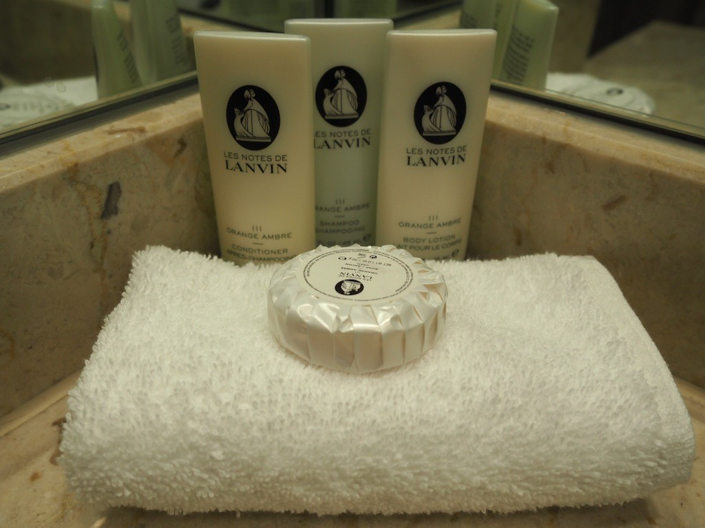 Lanvin toiletries to lather up in luxury