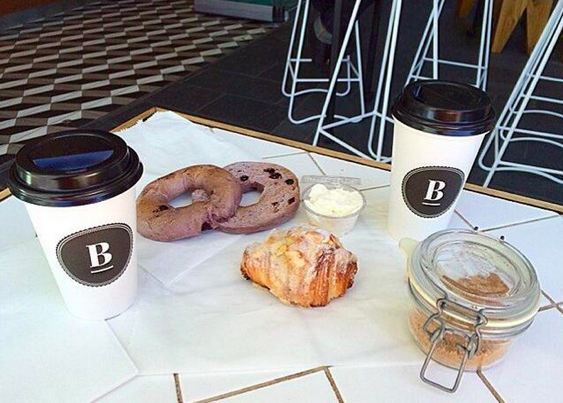Coffee and bagels by ESPL Coffee Brewers