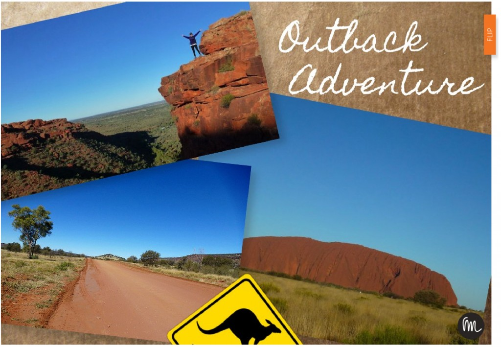 Outback moodboard made using moodAway.com