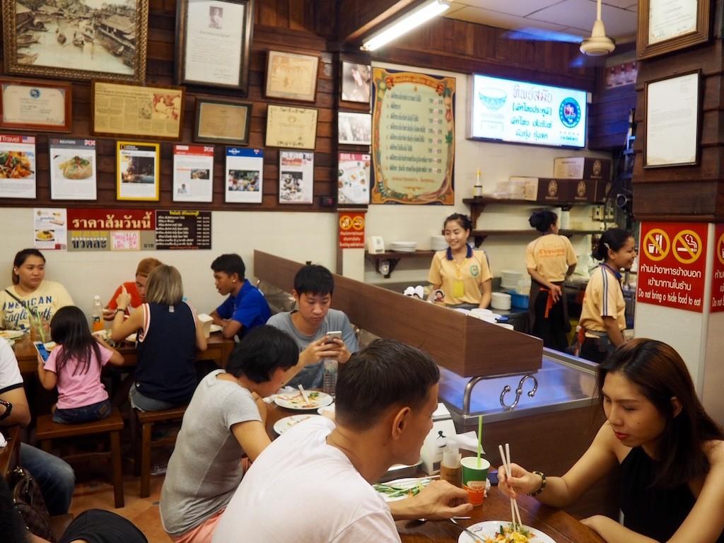 Thipsamai famous pad thai restaurant