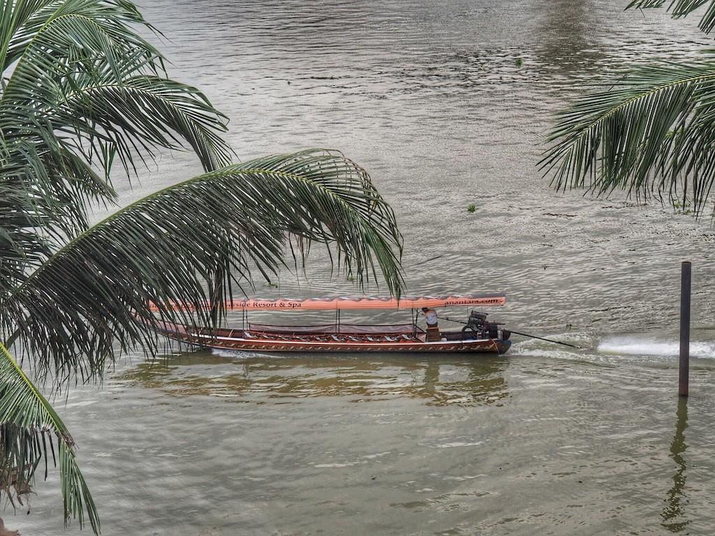 Tranquil views from Anantara Riverside Bangkok Resort