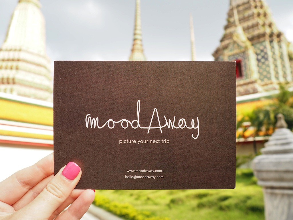 Spreading the word about moodAway in Bangkok