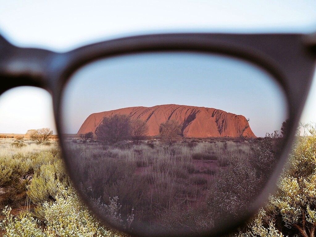 All eyes on Uluru