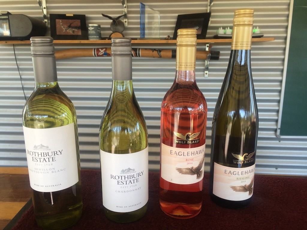 Delicious range of wine on offer