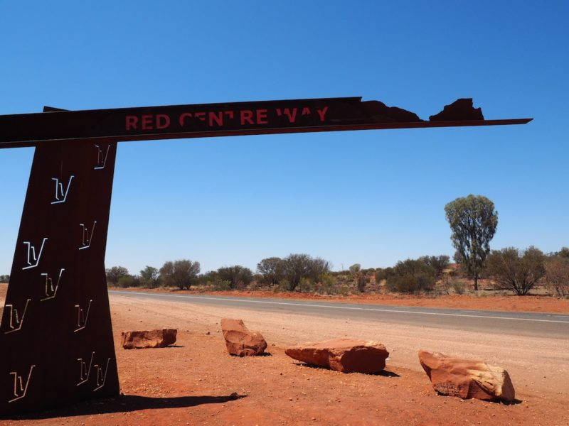 Unusual Things You Might See When Driving Through Australia's Red Centre