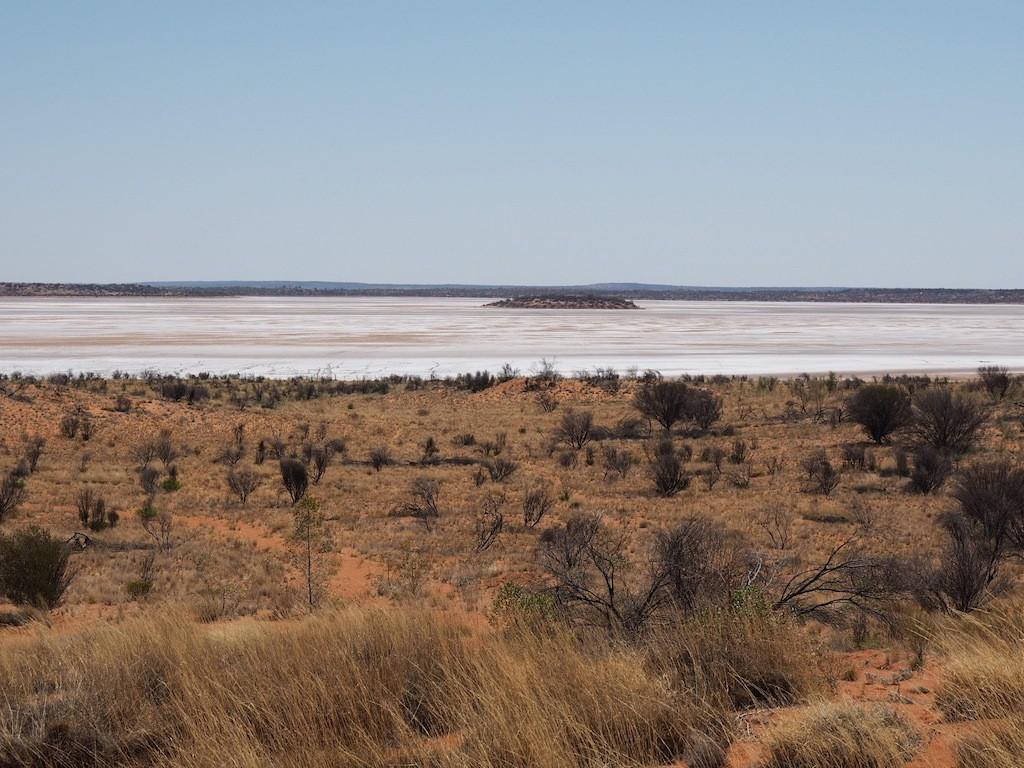 Dry Salt Lakes