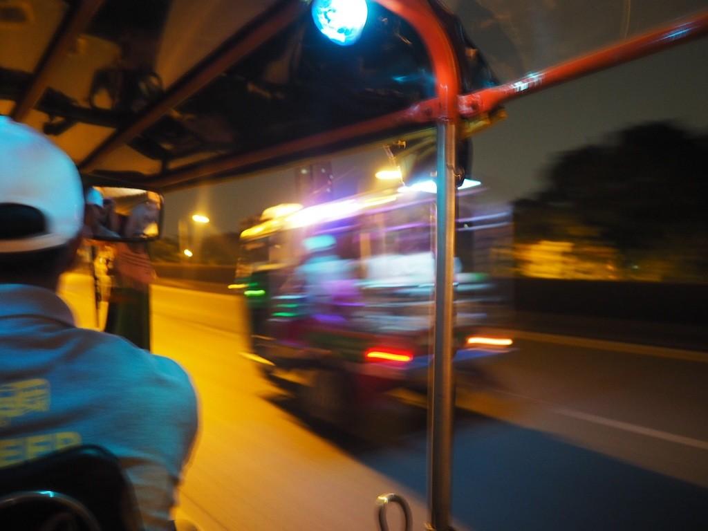 Bangkok by night tuk tuk tour