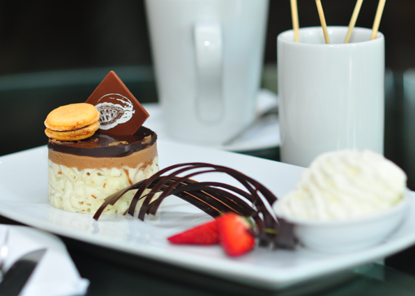One of the desserts on offer at Numero Uno cafe and deli.