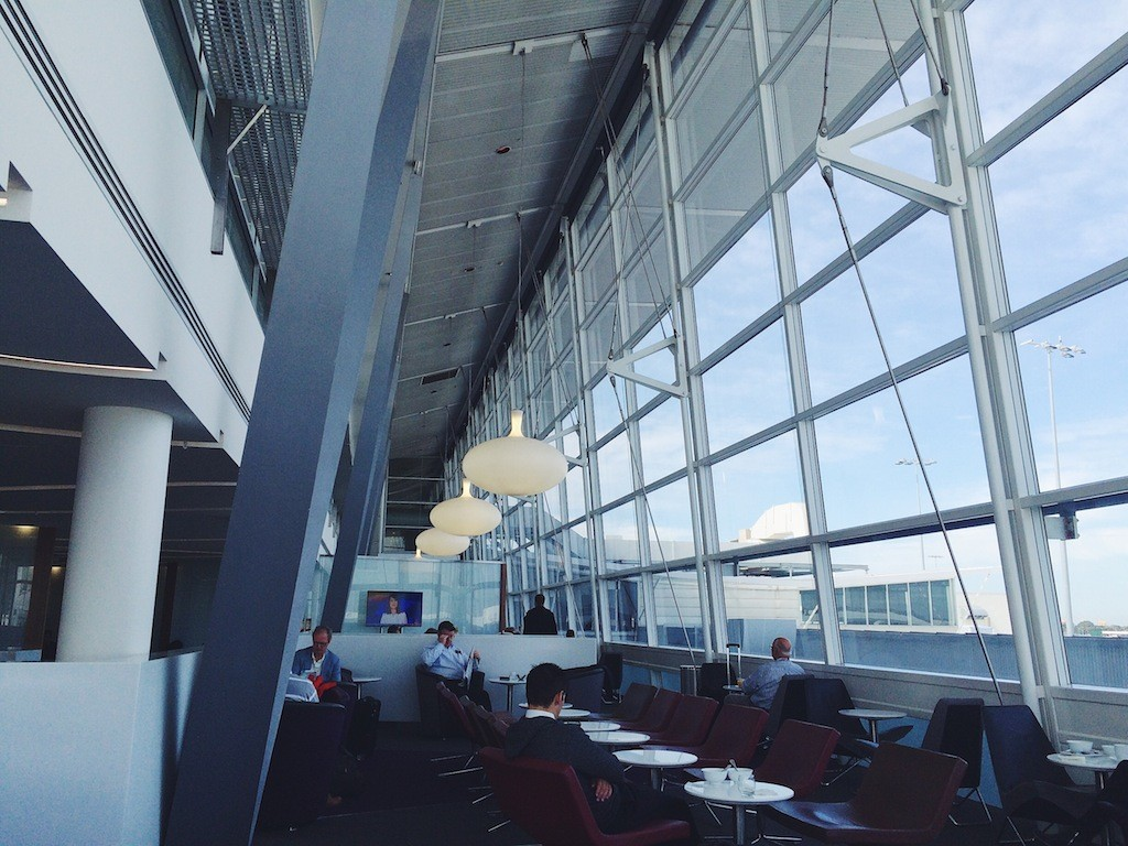 Virgin Australia lounge Sydney Airport