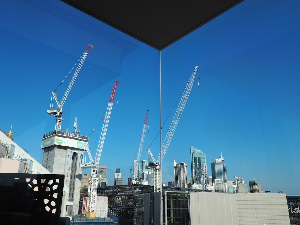 Wraparound glass walls means you can stare at the big blue sky from the Stirred suite