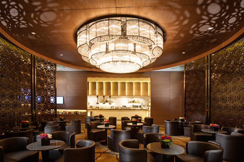 Virgin Velocity Gold partners can access the Al Reem Lounge at Abu Dhabi airport. Image thanks to Abu Dhabi Airport
