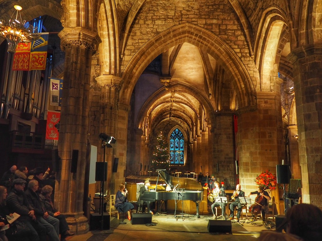 A concert in St Giles Cathedral as part of Scot:Lands