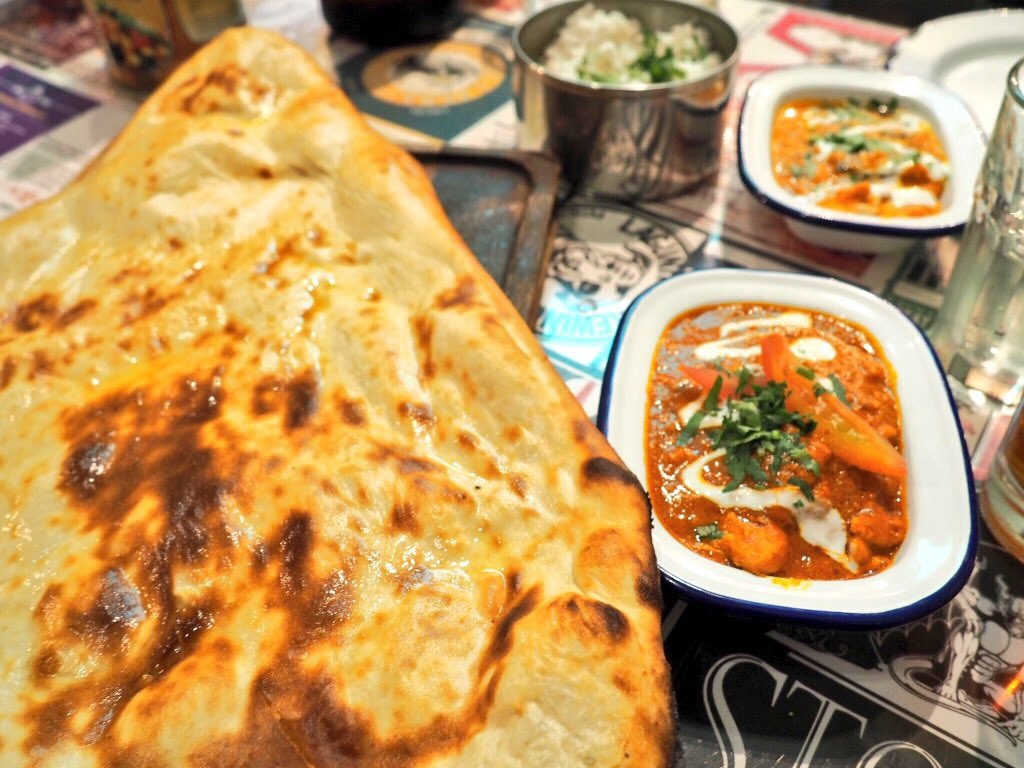 The biggest and bestest naan bread ever