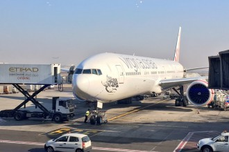 Virgin Australia Premium Economy Abu Dhabi to Sydney