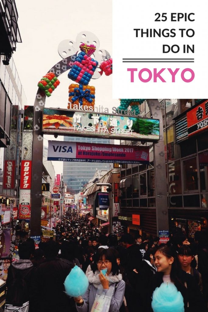 25 fun things to do in tokyo