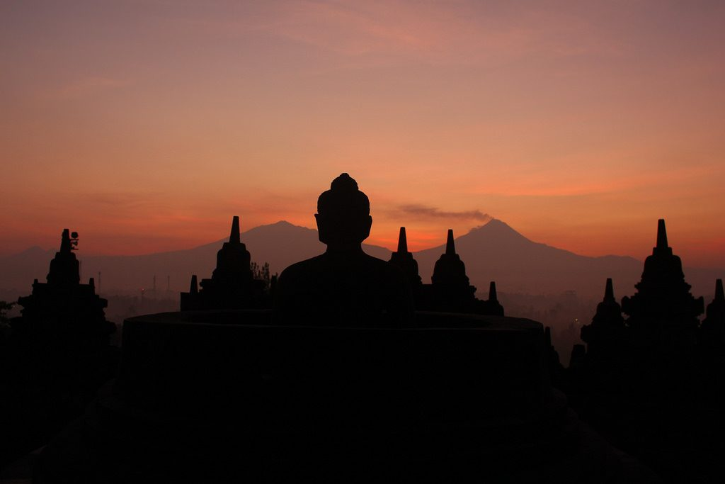Borobudur Temple Yogyakarta. Photo via Flikr/SIPAT: View from the Edge