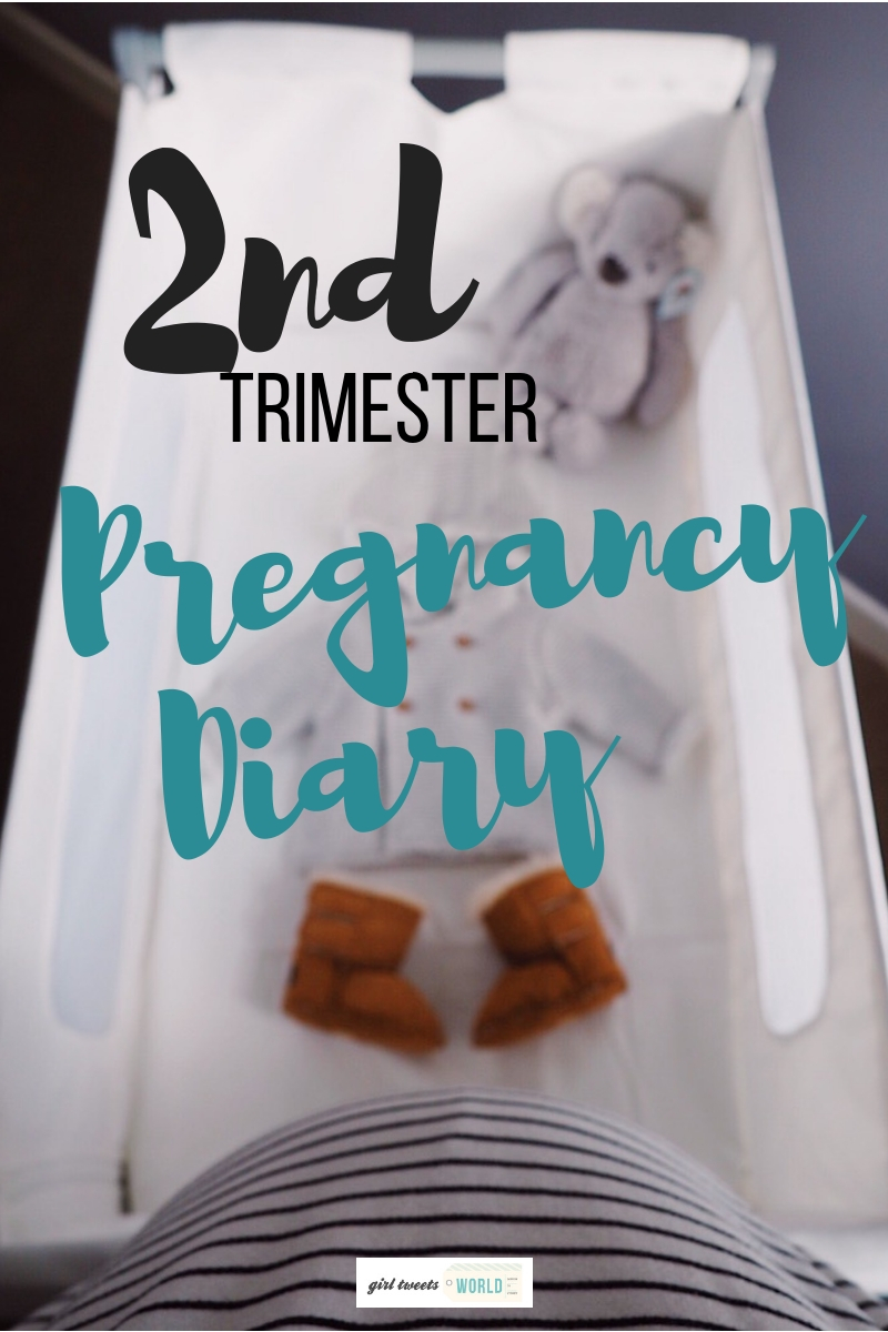 Some of the major moments & milestones from the second trimester of our pregnancy, including a move from Australia to the UK at 20 weeks! #pregnancy #mamatobe #secondtrimester #maternity #nursery