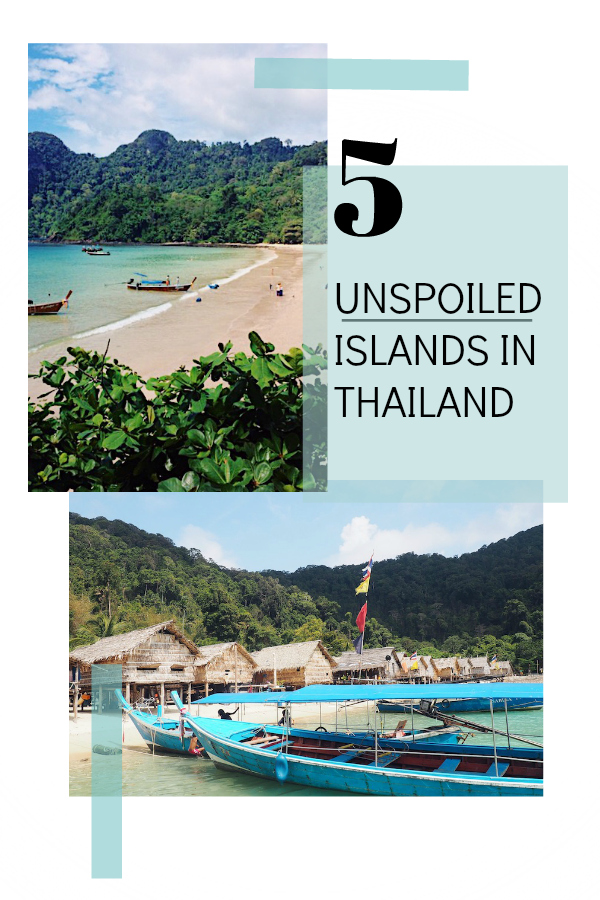 5 unspoiled islands in Thailand