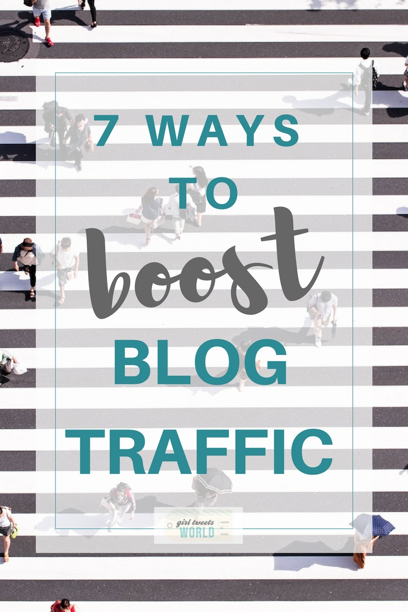 Want to boost your blog traffic? Here are 7 real ways I doubled my blog traffic in 2 months by optimising for Pinterest and SEO. #blogtips #blogtraffic #blogging