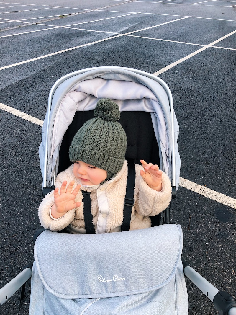 Day in the life of a blogger with a baby