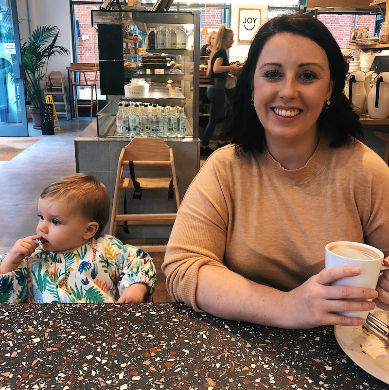 A day in the life of a blogger with a baby
